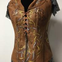 Lagertha, bodice detail