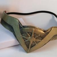 Wonder Woman armband and headpiece