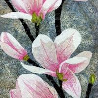 Magnolias III, detail