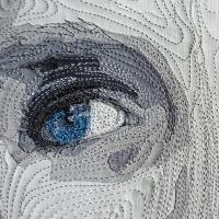 Luka's Eyes, detail