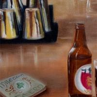 Pub Scene, detail